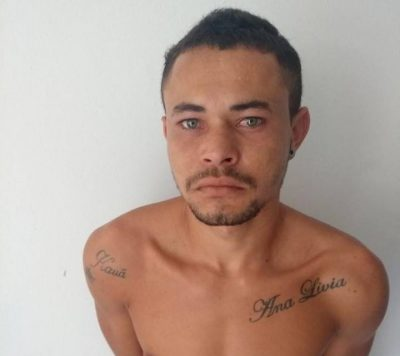 Polícia cumpre mandato de prisão em Serra Branca e apreende arma e droga