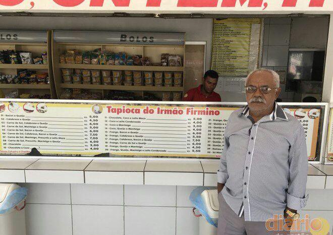 Morre Irmão Firmino, dono da tapiocaria mais famosa da Paraíba