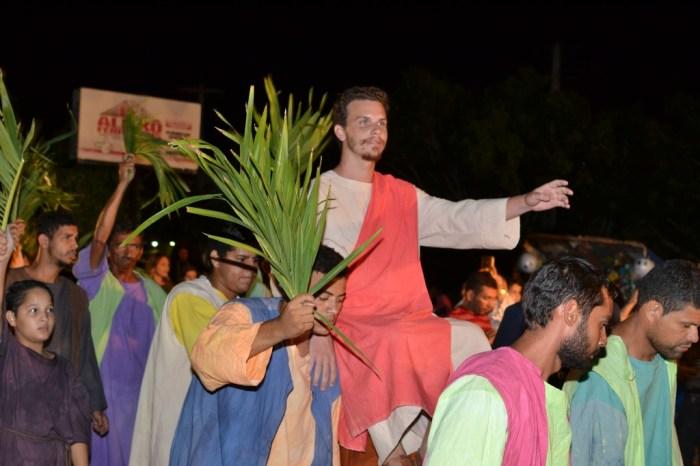 Fortes chuvas cancelam espetáculo da Paixão de Cristo em Monteiro