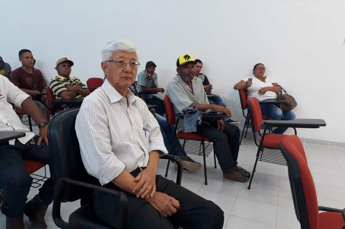 Com apoio da Prefeitura de Monteiro, pescadores participam de reunião na Capital