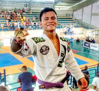 Jovem são dominguense vence Campeonato Estadual de Jiu-Jitsu em João Pessoa