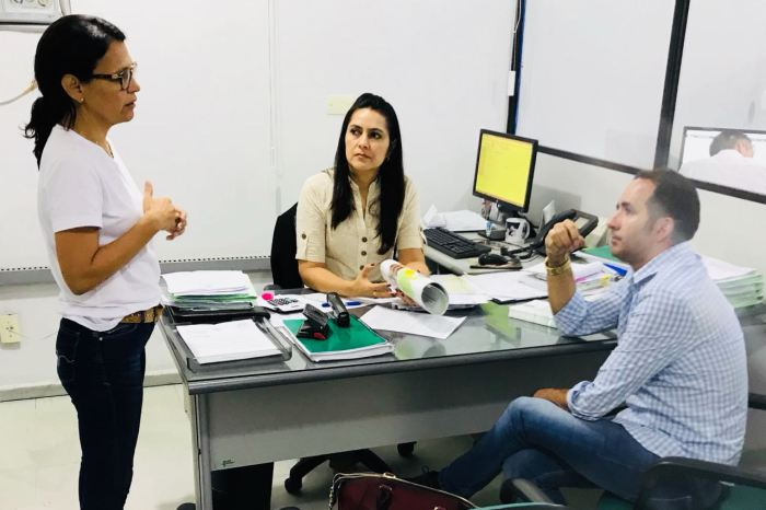 Prefeito de SSU se reúne com gerentes da Conab para tratar de projetos