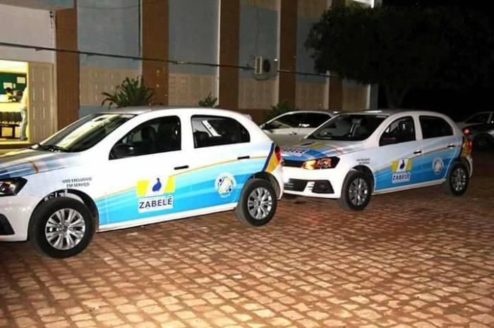 Prefeito Dalyson Neves entrega dois veículos a Secretaria de Saúde de Zabelê