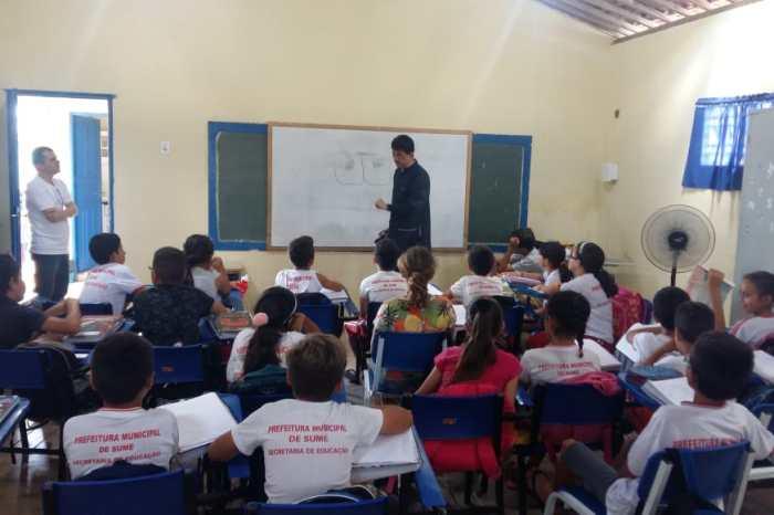 Saúde na Escola realiza ações nas unidades municipais de ensino da cidade de Sumé