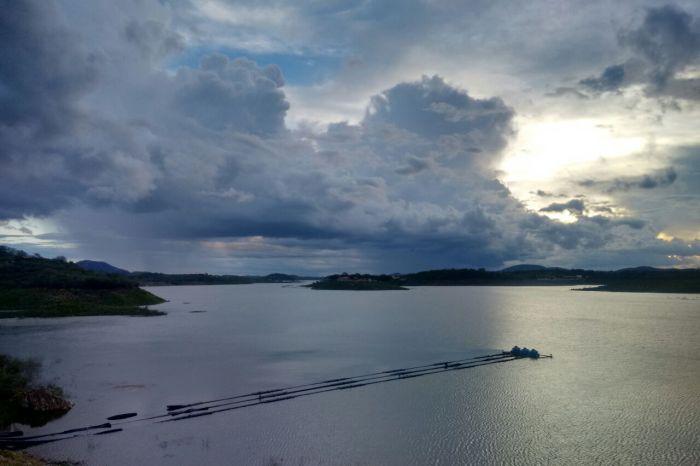 Com chuvas no Cariri, nível de Boqueirão aumenta e açude atinge 23% da capacidade total