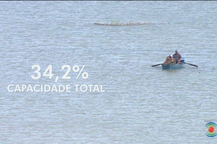 Boqueirão tem maior recarga dos últimos 12 anos e ultrapassa 32% de sua capacidade