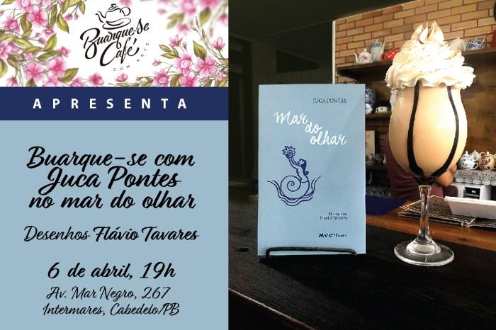 """Buarque-se Café recebe recital """"Mar do olhar"""""""