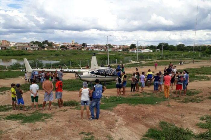 Ação descaracterizada da Polícia Federal procura por carga roubada no município de Monteiro