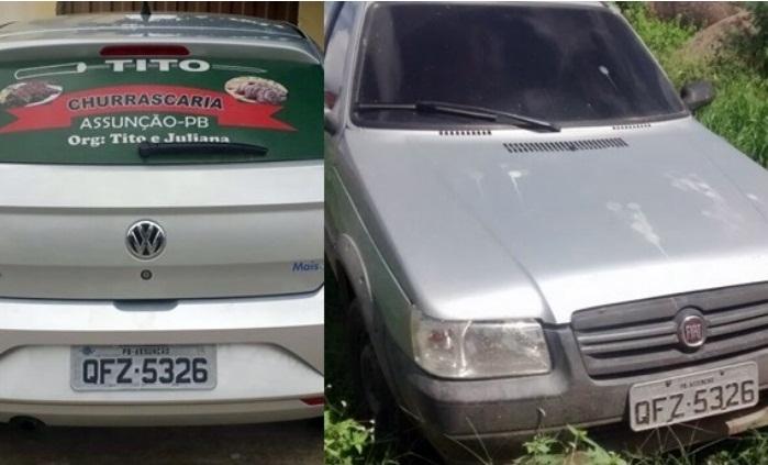 Comerciante do Cariri tem placa de seu carro clonado e fica sabendo através de redes sociais