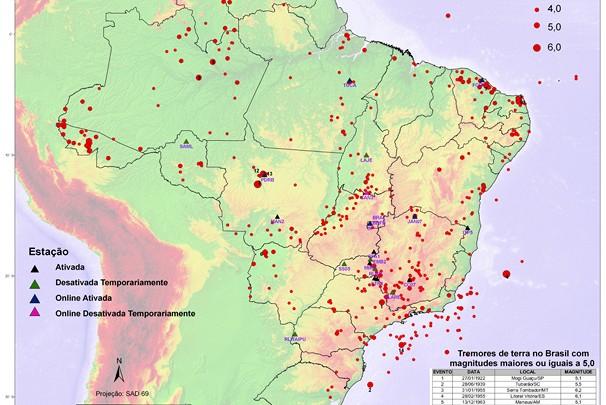 Terremotos nos Andes continuarão sendo sentidos no Brasil