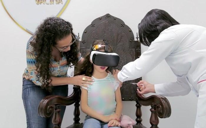 Secretaria de Saúde de Zabelê usa realidade virtual para ajudar crianças a enfrentar medo de vacina