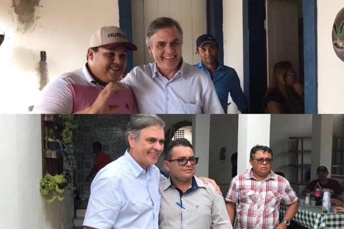 Senador Cássio visita São João do Tigre e recebe título de cidadão em Parari