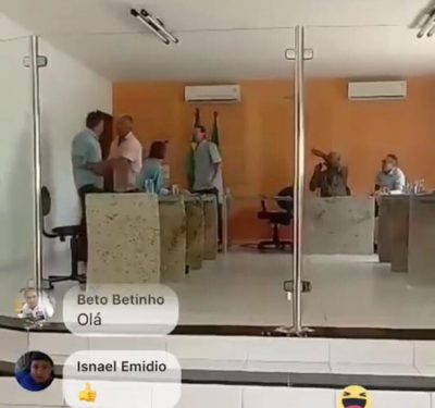 Vereador ameaça sacar arma durante sessão na Câmara de São José dos Cordeiros