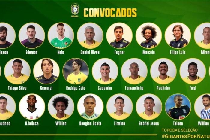 Jogadores do Brasil se apresentam para Copa, Neymar é prioridade