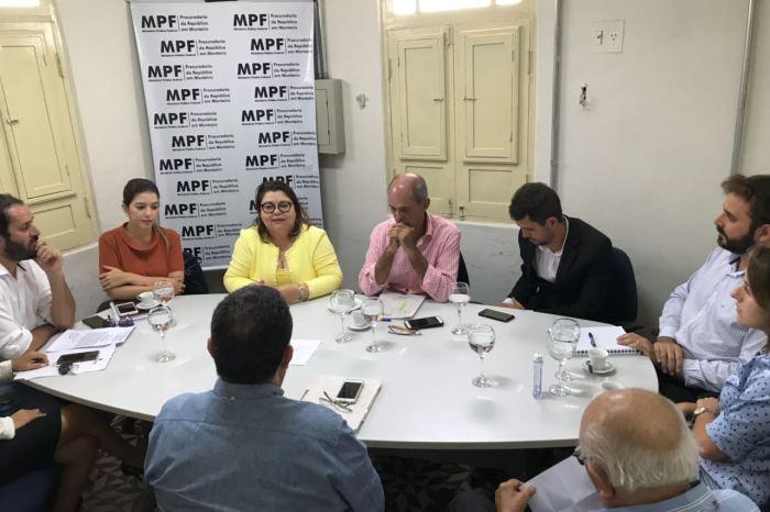 MPF reúne-se com  Prefeitura e entidades em Monteiro