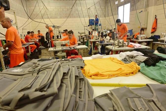 Apenas 13% dos presos no Brasil trabalham durante o regime