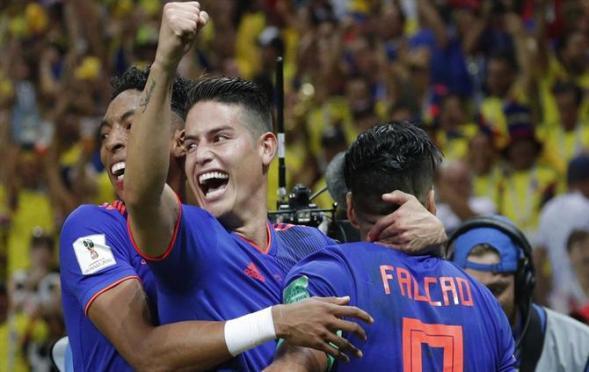 Colômbia marca três gols e resultado elimina Polônia da Copa