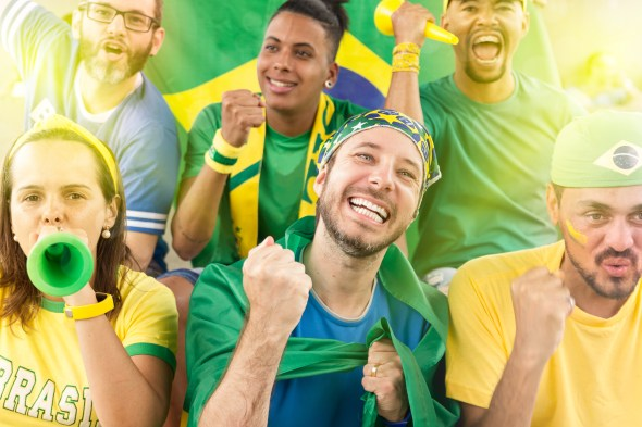 Torcer pelo Brasil requer cuidado com emoções