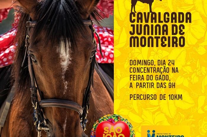 Cavalgada junina é mais um diferencial no São João de Monteiro