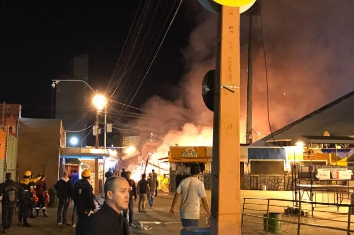 Incêndio no Parque do Povo cancela shows do São João de Campina