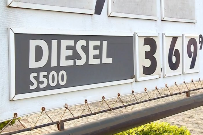 Procon notifica postos por não baixarem R$ 0,46 no litro do diesel
