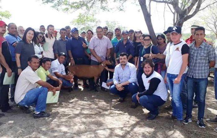 Comunidades atendidas pelo Procase participam de intercâmbio sobre caprinovinocultura