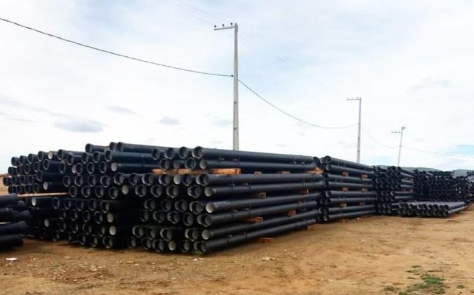 Construção de adutora que levará água da Paraíba para Pernambuco foi iniciada