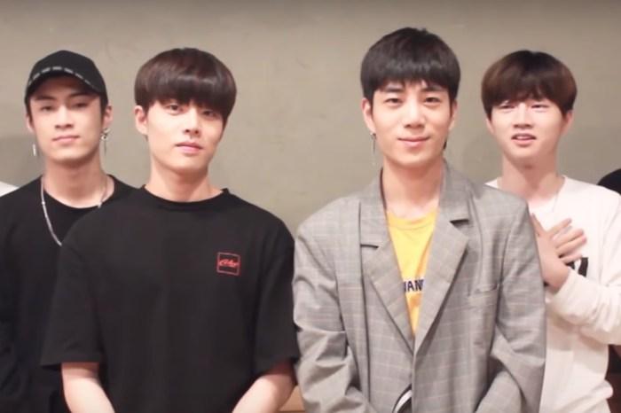Grupo de pop sul-coreano, canta 'Evidências' para divulgar turnê