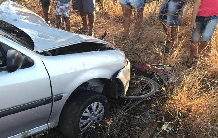 Padre se envolve em acidente após imprudência de jovens em motos no Cariri