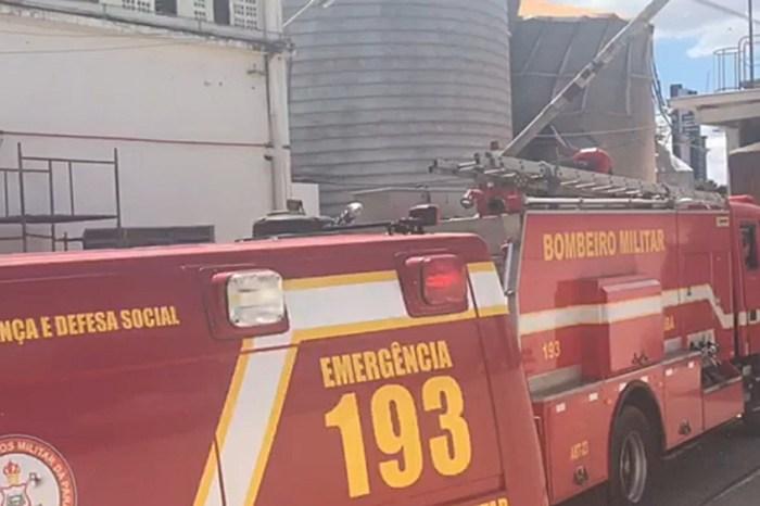 Funcionário de fábrica morre soterrado após silo de milho romper