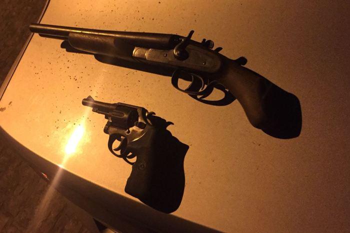 PM apreende armas de fogo em cidades do Cariri e prende dois suspeitos