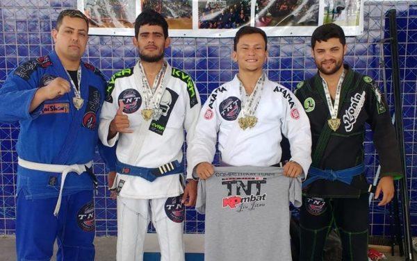 São Domingos do Cariri é destaque no Open Cariri e ganha 6 medalhas de ouro e prata