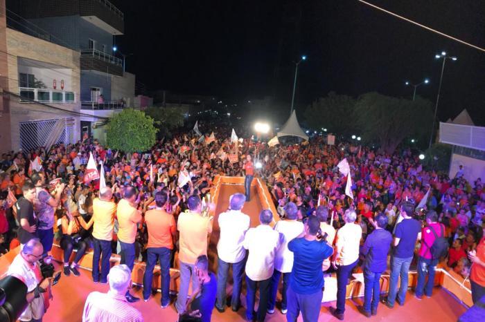 Em Monteiro, Batinga afirma que união de forças fará o Cariri cada vez maior