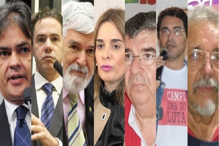 Pesquisa Ibope para o Senado: Cássio 40%; Vené, 34%; Luiz Couto, 26%