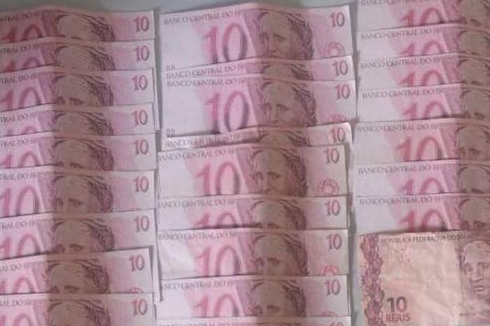 Homem é preso com R$ 320 em cédulas falsas, em Guarabira