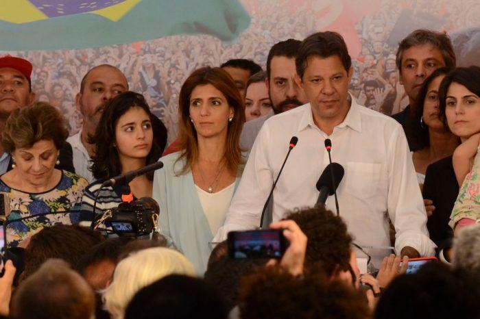 Haddad agradece votos recebidos e promete oposição pela democracia