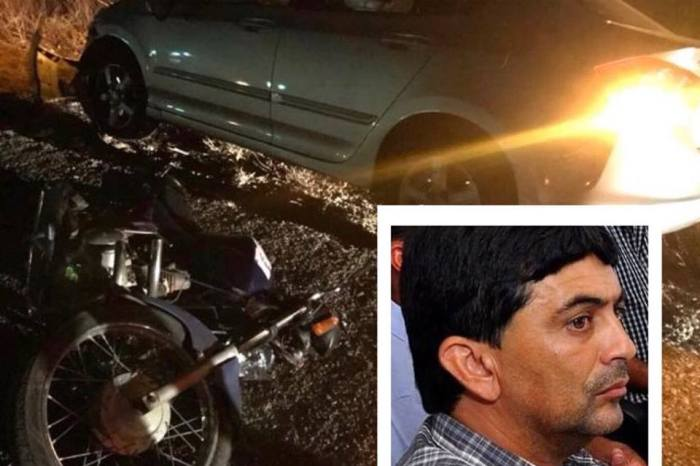 Vereador de Coxixola morre atropelado por carro na BR-412, no Cariri