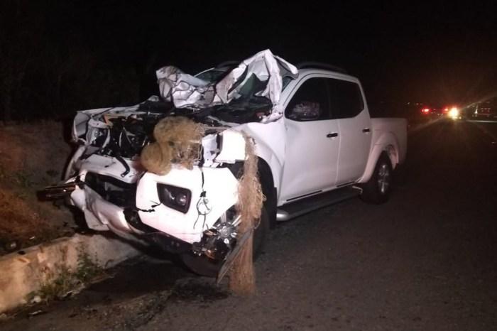 Acidente entre carroça e caminhonete deixa quatro mortos na PB