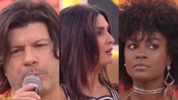 Paulo Ricardo e atriz de Malhação protagonizam saia justa