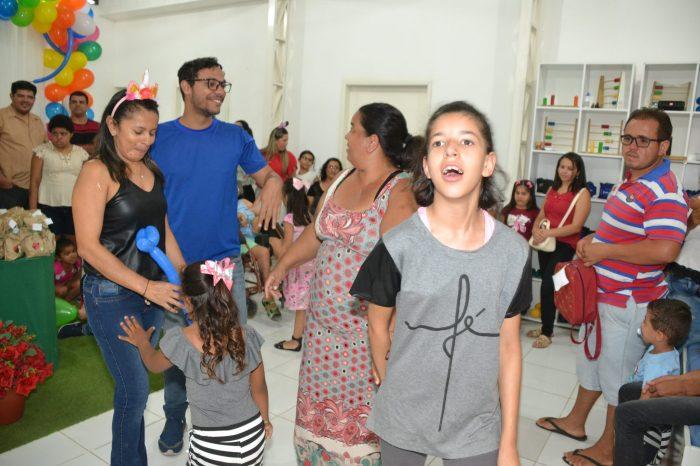 CER II promove Festa do Dia das Crianças para usuários do serviço em Monteiro