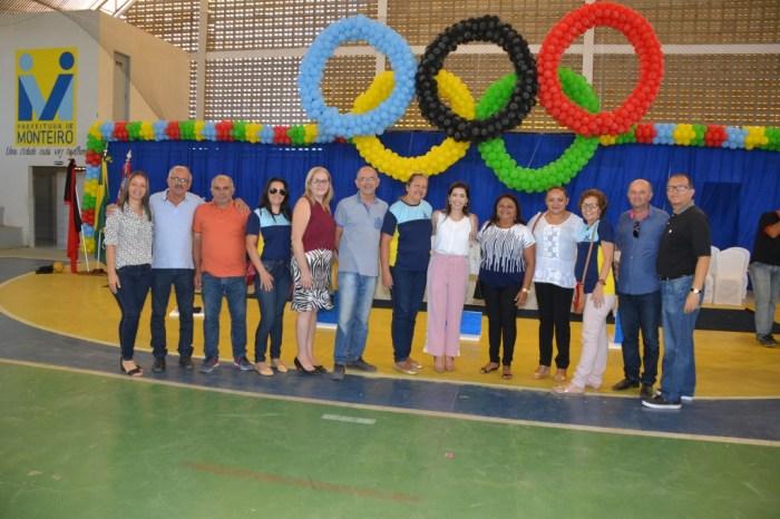 Jogos Escolares tem cerimonia de abertura oficial no Ginásio O Chicão
