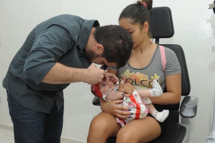 Bebês começam a ser atendidos com o Teste do Olhinho no CEMED em Monteiro