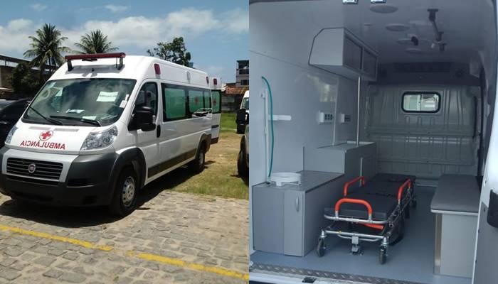 Saúde da cidade de Amparo é contemplada com ambulância zero quilometro