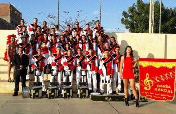 Escola Estadual Senador José Gaudêncio disputará final da IV Copa de Bandas Marciais