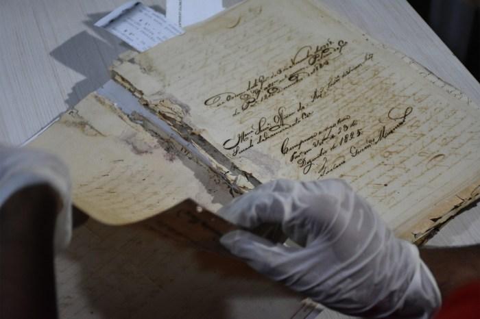 Documentos dos séculos 18 e 19 são encontrados na Câmara de JP