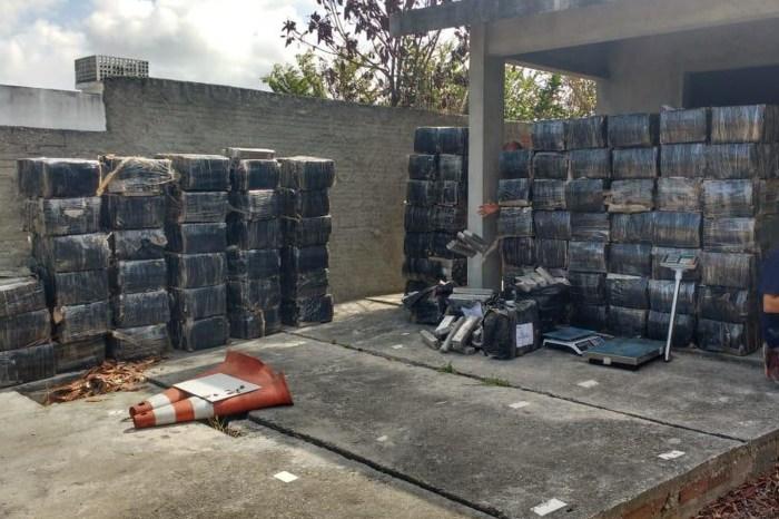 Polícia apreende mais de 2 toneladas de maconha na PB