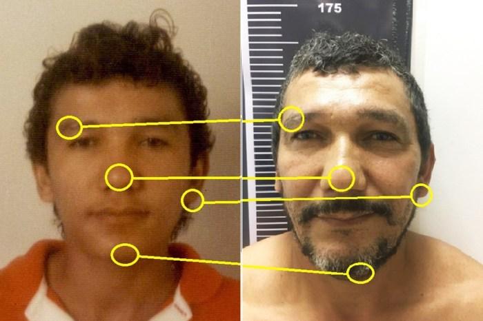 Reconhecimento facial: Suspeito é preso 21 anos após crime