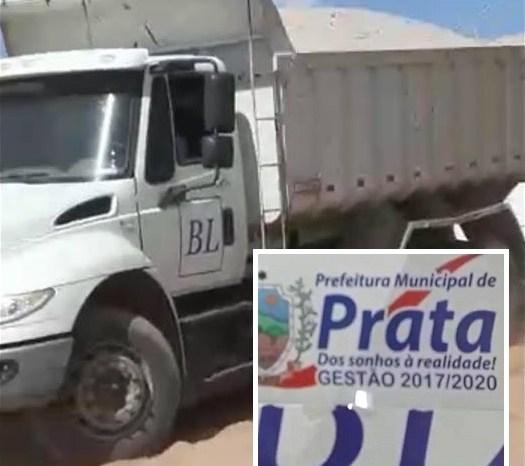 Prefeitura de Prata adota silêncio sobre denúncia de uso irregular de caçamba