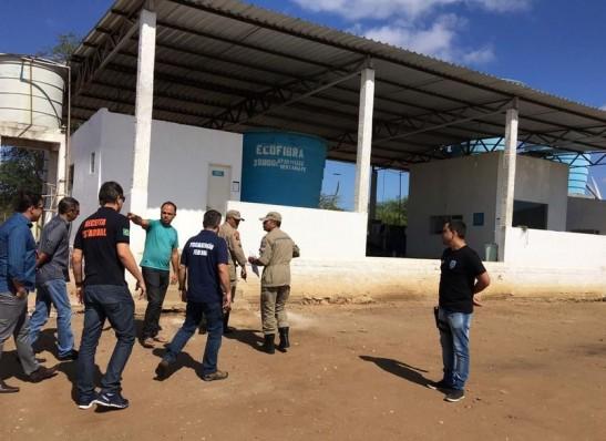 Empresa de água interditada em Monteiro diz que informações do MP não são verdadeiras