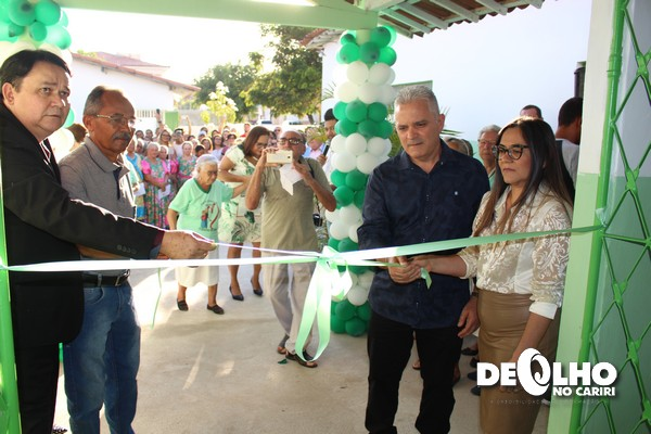 Prefeitura de Serra Branca inaugura Centro de Convivência Maria Helena Antonino